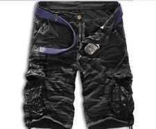 Stylish Men Cargo Shorts Military Combat Sports Pants Multi-Pocket Trousers 2018