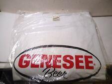 Nos Vintage Genesee Beer Classic Logo T-Shirt Red Eye Black White Size Large