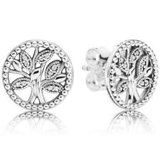 PANDORA Ohrstecker Ohrringe Earrings 297843 CZ Trees of Life Silber