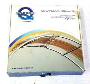 Quadrex Fused Silica Capillary Column 007-1701-30W-2.0F 30mx0.32mmIDx2.0um