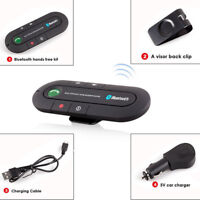 Wireless Bluetooth 4.1 Vivavoce per auto Visor Clip Kit Smart Phone Mobile CRIT