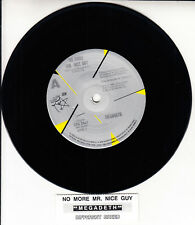 "MEGADETH No More Mr. Nice Guy 7"" 45 rpm vinyl record RARE + juke box title strip"