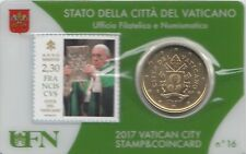 Briefmarke und Münze von PAPST FRANZIUSKUS  (Nr. 16)