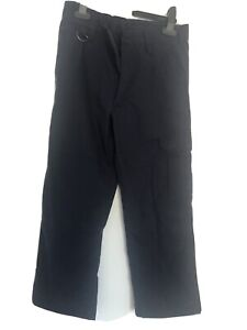 Official Scout Cub Beaver Activity Trousers, Navy, Age 7-8 Years