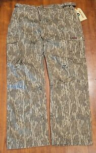 Mossy Oak Cotton Mill 2.0 Camo Hunting Pants for Men Camouflage Clothes Size L