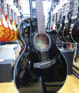 TAKAMINE Acoustic Electric Guitar ED2NC BLK #8418