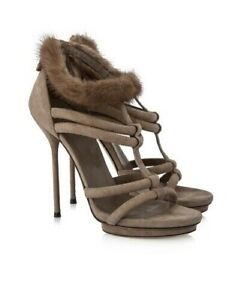 GUCCI CAMILA T STRAP SANDALS  - UK 3 - 3.5 Euro 36 - WORN ONCE - GORGEOUS HEELS