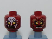 Lego Minifigure Head The Hobbit and the Lord of the Rings Uruk-hai H71