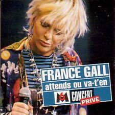 France GALL	Attends ou va-t'en (Gainsbourg) Promo 2-Track CARD SLEEVE	CD SINGLE
