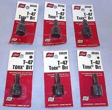 Wholesale Lot of 6 Lisle 26500 T- 47 Torx Sockets