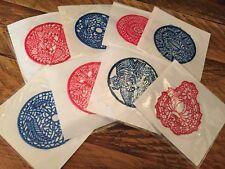 Henna Stencil Book Natural Quality Hand Art Mehndi Tattoo Kit Temp Guide Pattern
