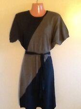 Women's Knit Short Sleeve  Sweater Dress Medium