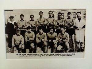 Amateur football team print  CROOK TOWN F.C.