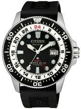 Citizen Promaster Marine Bj7110-11e Super Titanium Eco-drive Resin Extension