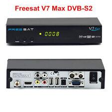Freesat V7 Max 1080P HD DVB-S2 Digital Satellite TV Receiver, PowerVu, Biss key