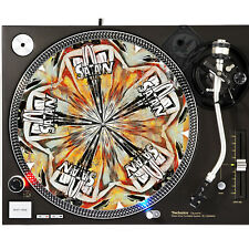 Portable Products Dj Turntable Slipmat 12 inch - Hell Hole Satan