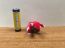 3rd Generation Legendary pokemon plastic action figure Groudon 1-2 Inches Tall