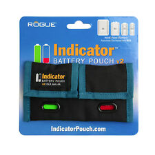 Rogue Indicator Battery Pouch v. 2 (For Rechargeable Batteries)