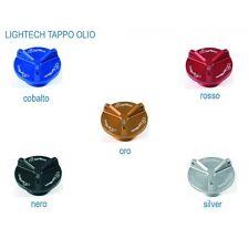 TAPPO OLIO ERGAL LIGHTECH M20X2.5 YAMAHA MT 09 MT09 13-15 ORO ROSSO SILVER NERO
