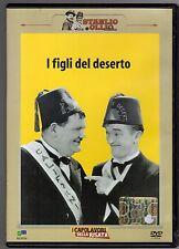 dvd STANLIO E OLLIO COLLECTION I FIGLI DEL DESERTO