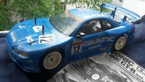 Tamiya Calsonic Skyline GT-R (R34) TL-01 Chassis 4WD 1:10 RC Onroad
