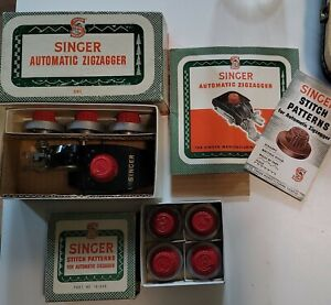 Vintage Singer Automatic ZigZagger for 301 with Stitch Pattern With Manual