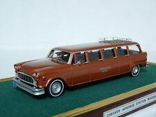 VF Models 1/43 Checker Aerobus Station Wagon Limousine Resin Handmade Model Car