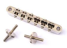 Gotoh Tune-O-Matic Tuneomatic Guitar Bridge • Modern ABR-1 • Nickel GE104BN