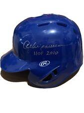 Andre Dawson Chicago Cubs Signed Autographed Mini Helmet JSA COA