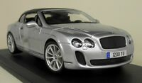 Maisto 1/18 Scale Bentley Continental Supersports Convertible Diecast Model Car