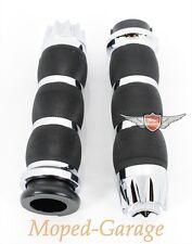 Harley Avon Set Manopole Air Cuscino Cromo Excalibur