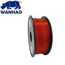 Wanhao Red Original PLA 1.75 mm 1 KG Filament for 3d Printer