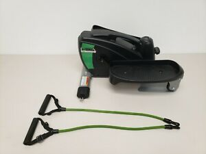 InMotion E3000 Elliptical Compact Strider Machine With Resistance Bands 55-1621A