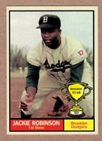 Jackie Robinson '47 Brooklyn Dodgers / Monarch Corona Rookie Stars #7 NM+ cond.