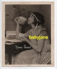 MARIE PROVOST ORIGINAL 8X10 PHOTO 1920's EXHIBIT ARCADE CARD PROOF