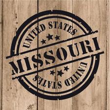 Vinilo de Corte Missouri Pegatina Misuri USA United States 10 cm Adhesivo Pared