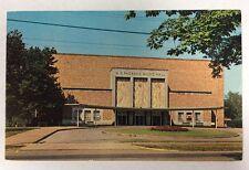 The W.D. Packard Music Hall Warren, Ohio Kenley Players Chrome Postcard Unused