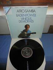 """Baden Powell & Vinicius De Moraës """"Afro-Samba"""" LP BARCLAY ORIZZONTE ITA 1979"""