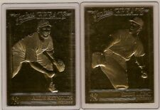 REYNOLDS & LOPAT 22kt Gold Danbury Mint Cards - YANKEES GREATS