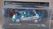 """DIE CAST """" PEUGEOT 307 WRC CRITERIUM DES CEVENNES - 2007 """" SCALA 1/43"""