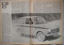 1971 DAF 55 Marathon Original Motor magazine Road test
