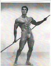 bodybuilder REG PARK Mr Universe Bodybuilding Muscle Photo B&W