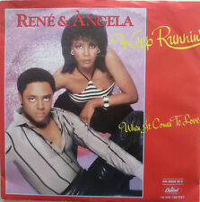 "7"" 1983 ! RENE & ANGELA : Keep Runnin´ // MINT- \"