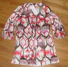 NWT  ESCADA Top Shirt 3/4 Sleeve Sz 36  S M  6  8 $990