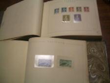 Tema UPU. Dos Tomos de piel con los sellos de la UPU. Valor catalogo 2343 Euros