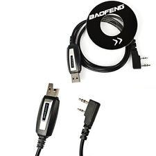 USB CAVO DI PROGRAMMAZIONE PER Baofeng GT-3, UV-82L, UV-5R & Plus2-Pin Radio t1