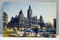Glasgow City Chambers, George Square  VINTAGE  Postcard 1970s