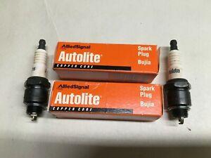 New Autolite Spark Plug 75  -  QTY 2