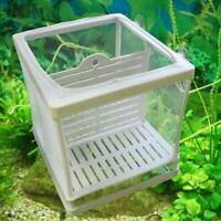 Fish Tank Aquarium Net Case Breeder Incubator Breeding Fry Isolation Box NewHot
