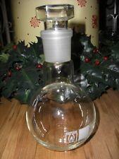 Rasotherm Jenaer Glas Rundkolben mit Glashohlstopfen 250 ml Laborglas